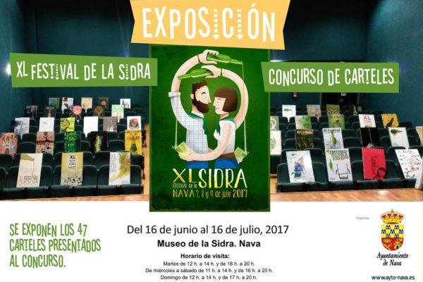 Carteles Festival de la Sidra 2017